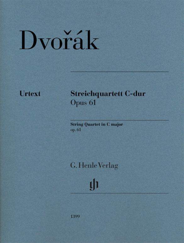 Antonín Dvorak: String Quartet in C major op. 61: String Ensemble: Parts