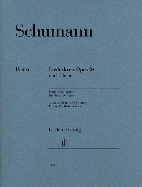 Robert Schumann: Song Cycle op. 24 on Poems by Heine: Medium Voice: Vocal Album
