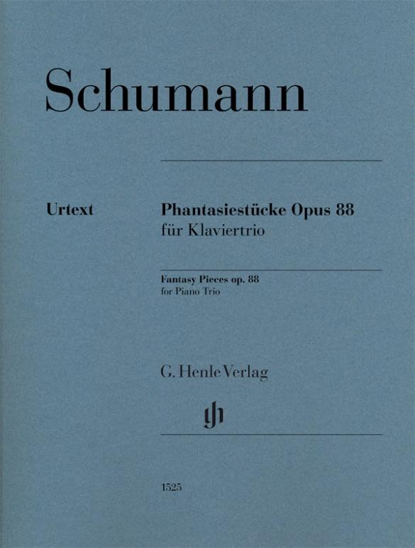 Robert Schumann: Phantasiestücke Opus 88 für Klaviertrio: Chamber Ensemble: