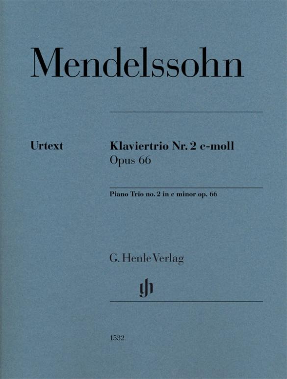 Felix Mendelssohn Bartholdy: Klaviertrio Nr. 2 c-moll Opus 66: Chamber Ensemble: