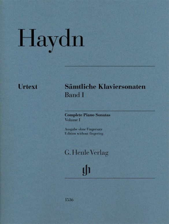 Joseph Haydn: Complete Piano Sonatas Volume I w/o fg pb.: Piano: Instrumental