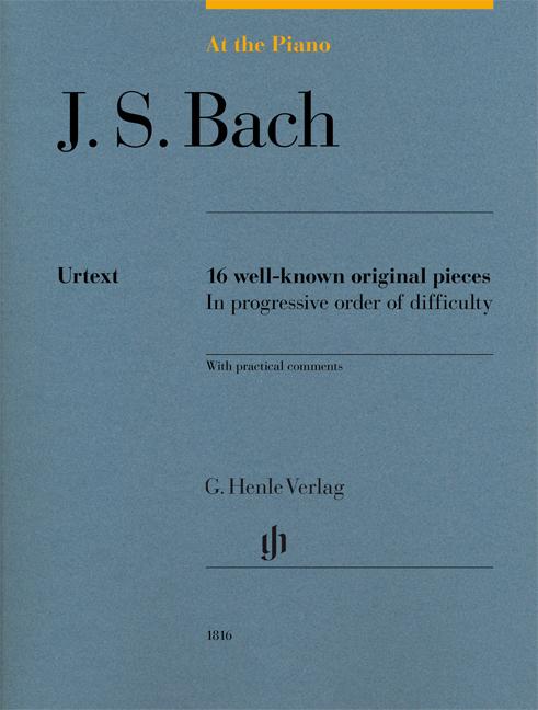 Johann Sebastian Bach: At The Piano - J. S. Bach: Piano: Score