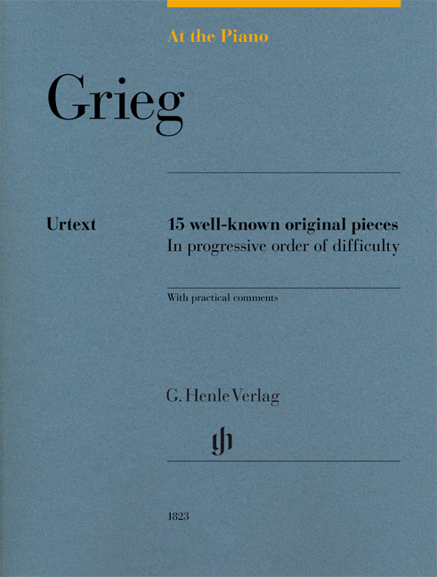 Edvard Grieg: At The Piano - Grieg: Piano: Score