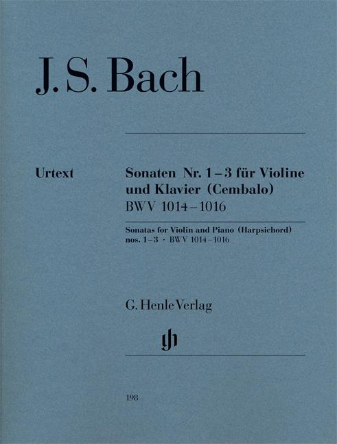 Johann Sebastian Bach: Sonatas for Violin and Piano: Violin: Instrumental Album