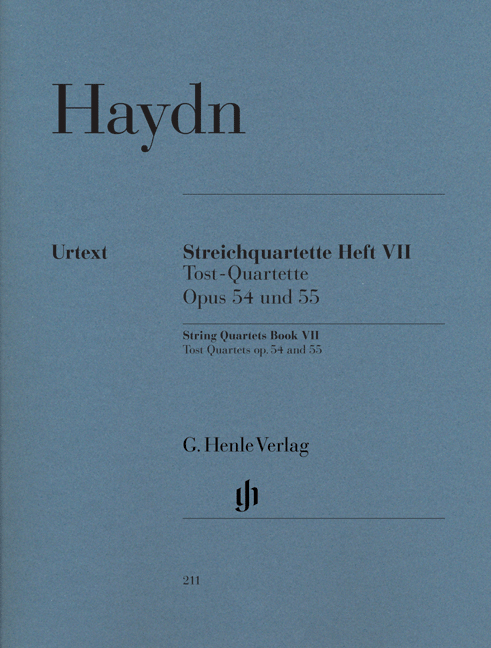 Franz Joseph Haydn: String Quartets Book VII: String Quartet: Parts
