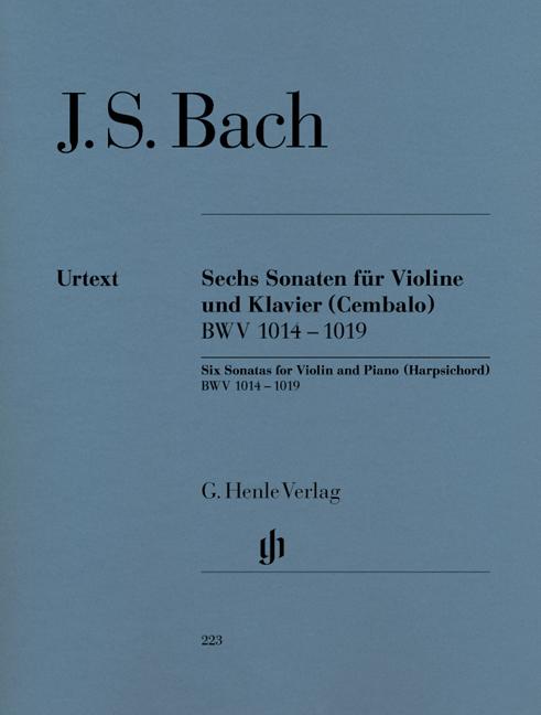 Johann Sebastian Bach: Six Sonatas for Violin and Piano: Violin: Instrumental
