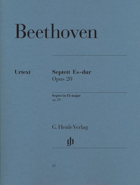 Ludwig van Beethoven: Septet In E Flat Op20 Chamber Ensemble: Chamber Ensemble: