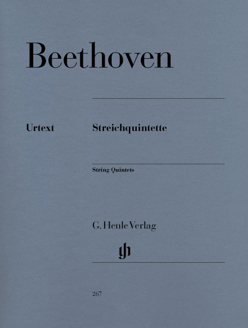 Ludwig van Beethoven: String Quintets: String Quintet: Score and Parts