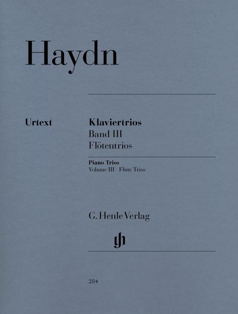 Franz Joseph Haydn: Piano Trios  Volume III: Piano Trio: Score and Parts