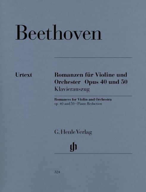 Ludwig van Beethoven: Romanzen für Violine und Orchester Op. 40 und 50: Violin: