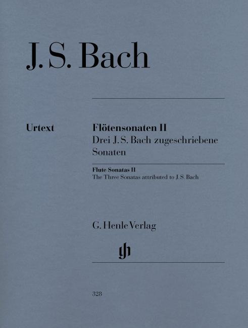 Johann Sebastian Bach: Flute Sonatas  Volume II: Flute: Instrumental Album
