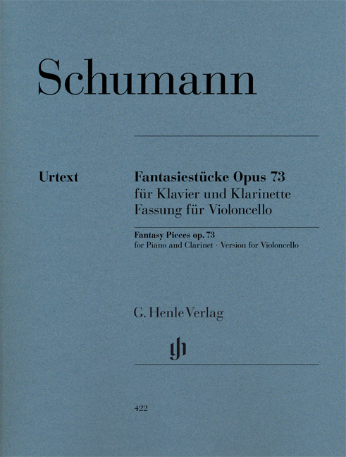 Robert Schumann: Fantasy Pieces For Piano And Clarinet Op.73: Cello: