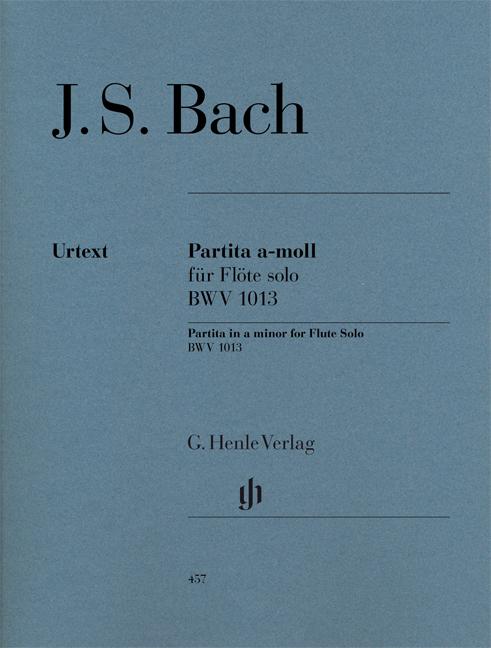 Johann Sebastian Bach: Partita A-Moll Flote Solo BWV 1013: Flute: Instrumental