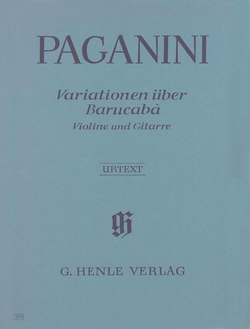 Niccolò Paganini: 60 Variations on Barucabà: Mixed Ensemble: Instrumental Album