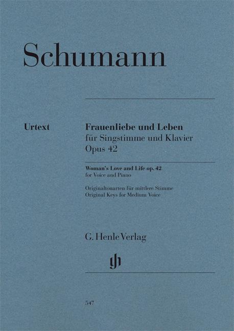 Robert Schumann: Frauenliebe Und Leben Op.42: Voice: Vocal Album