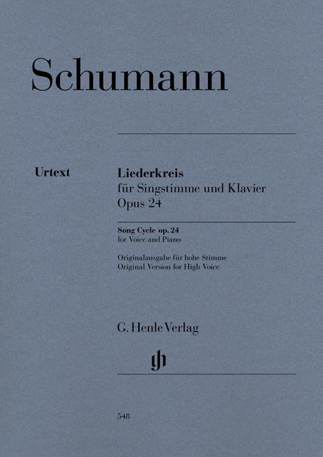 Robert Schumann: Song Cycle Op. 24: Voice: Vocal Work