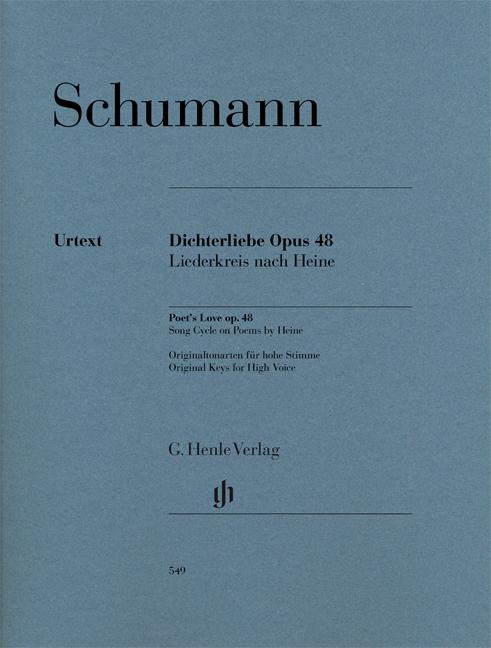 Robert Schumann: Poet's Love Op.48: Voice: Vocal Album