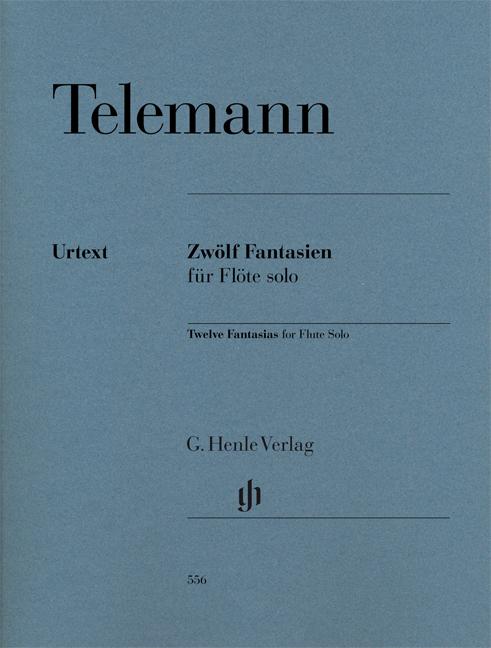 Georg Philipp Telemann: 12 Fantasias For Flute Solo: Flute: Instrumental Album
