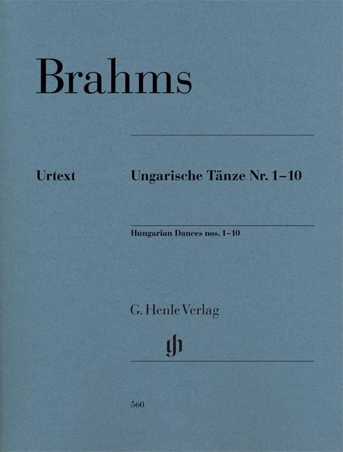 Johannes Brahms: Hungarian Dances Nos. 1-10: Piano: Instrumental Album