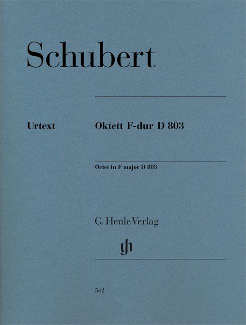 Franz Schubert: Octet In F major D 803 - Ensemble Parts: Chamber Ensemble: Parts