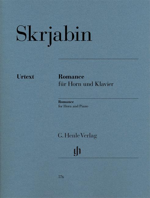 Alexander Skrjabin: Romance für Horn und Klavier: French Horn: Instrumental Work