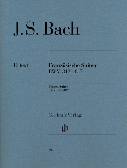 Johann Sebastian Bach: French Suites BWV 812-817: Piano: Instrumental Album