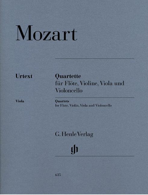 Wolfgang Amadeus Mozart: Quartette: Chamber Ensemble: Score and Parts
