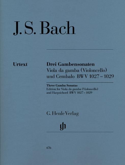 Johann Sebastian Bach: Sonatas for Viola da Gamba and Harpsichord: Cello: