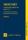 Wolfgang Amadeus Mozart: String Quartets  Volume IV: String Quartet: Study Score