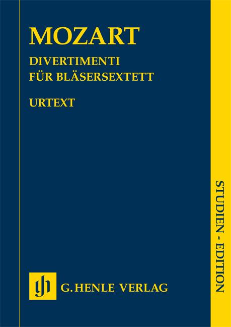 Wolfgang Amadeus Mozart: Divertimenti For Wind Sextet: Wind Ensemble: Study