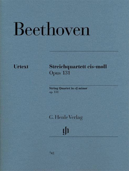 Ludwig van Beethoven: String Quartet Op. 131: String Quartet: Score and Parts