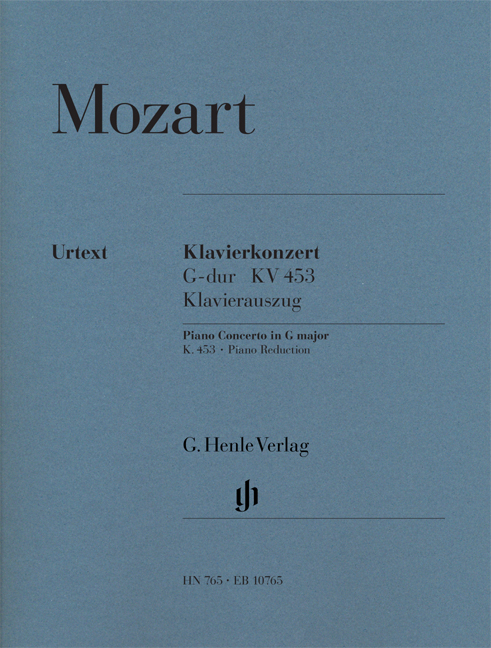 Wolfgang Amadeus Mozart: Piano Concerto G Major KV.453: Piano Duet: Instrumental