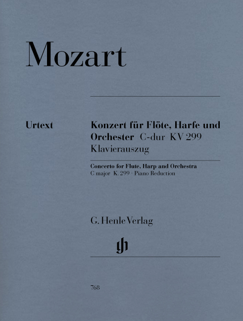Wolfgang Amadeus Mozart: Concerto For Flute  Harp And Orchestra C Major: Flute &