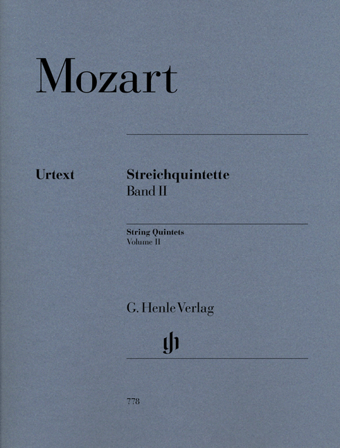 Wolfgang Amadeus Mozart: Streichquintette Band II: String Quintet: Parts