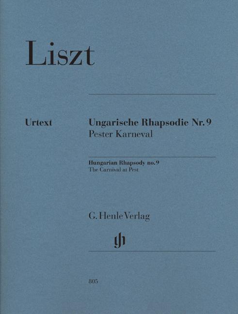 F. Lisz: Hungarian Rhapsody No.9 - The Carnival At Pest: Piano: Instrumental