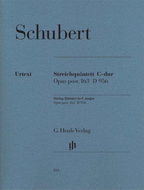 Franz Schubert: String Quintet In C: String Quintet: Parts