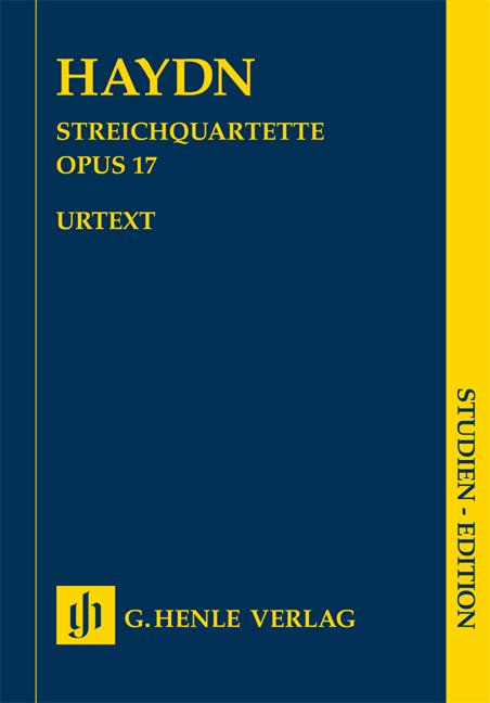 Franz Joseph Haydn: String Quartets Volume III Op.17: String Quartet: Study