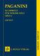 Niccolò Paganini: 24 Capricci für Violine solo Opus 1: Violin: Study Score
