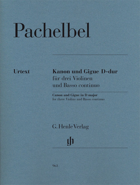 Canon And Gigue In D: Violin: Score and Parts