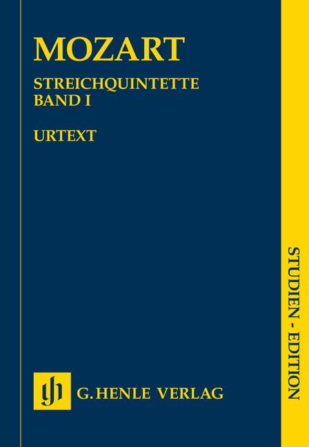 Wolfgang Amadeus Mozart: String Quintets - Book 1: String Quintet: Study Score