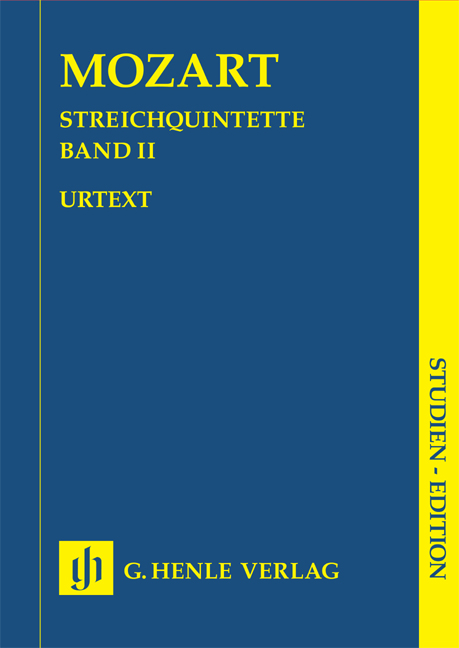 Wolfgang Amadeus Mozart: Streichquintette Band II: String Ensemble: Study Score