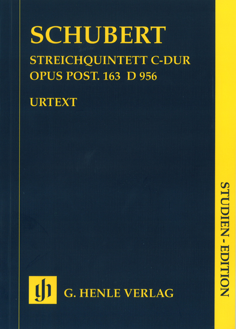Franz Schubert: String Quintet In C: String Quintet: Score