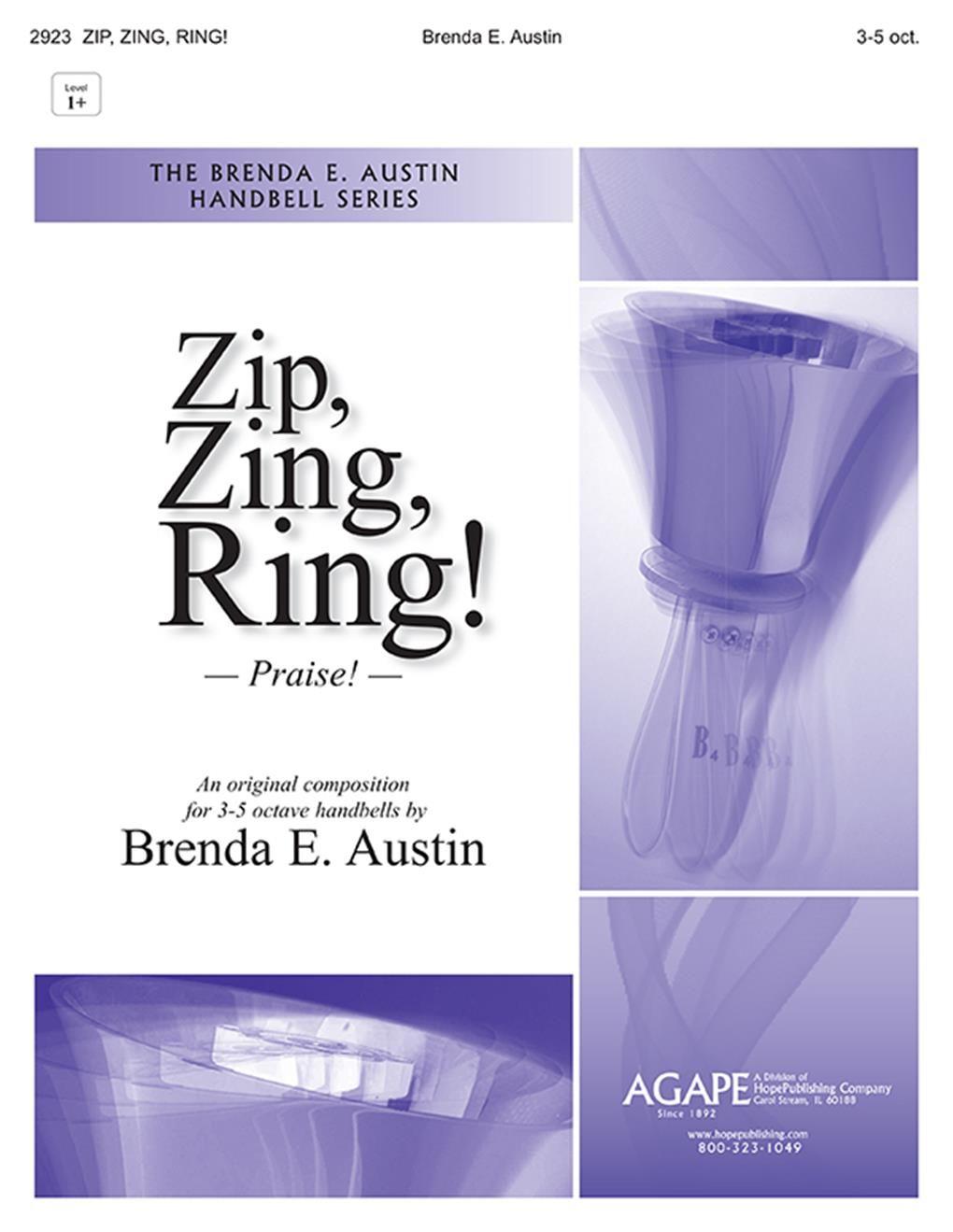Brenda E. Austin: Zip  Zing  Ring!: Handbells: Instrumental Work