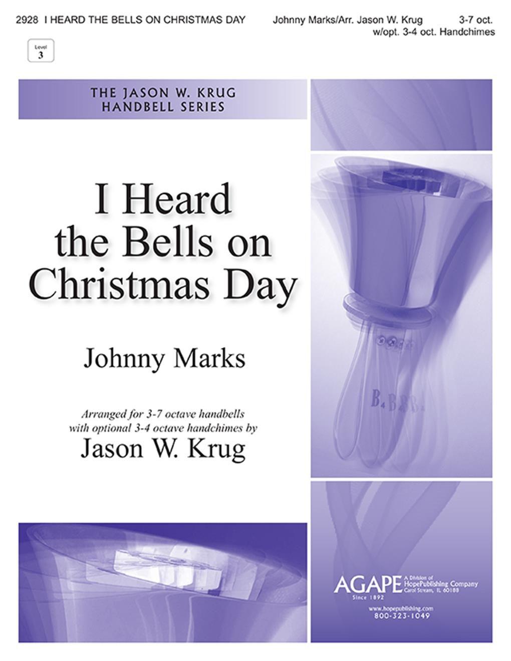 Johnny Marks: I Heard the Bells on Christmas Day: Handbells: Instrumental Work