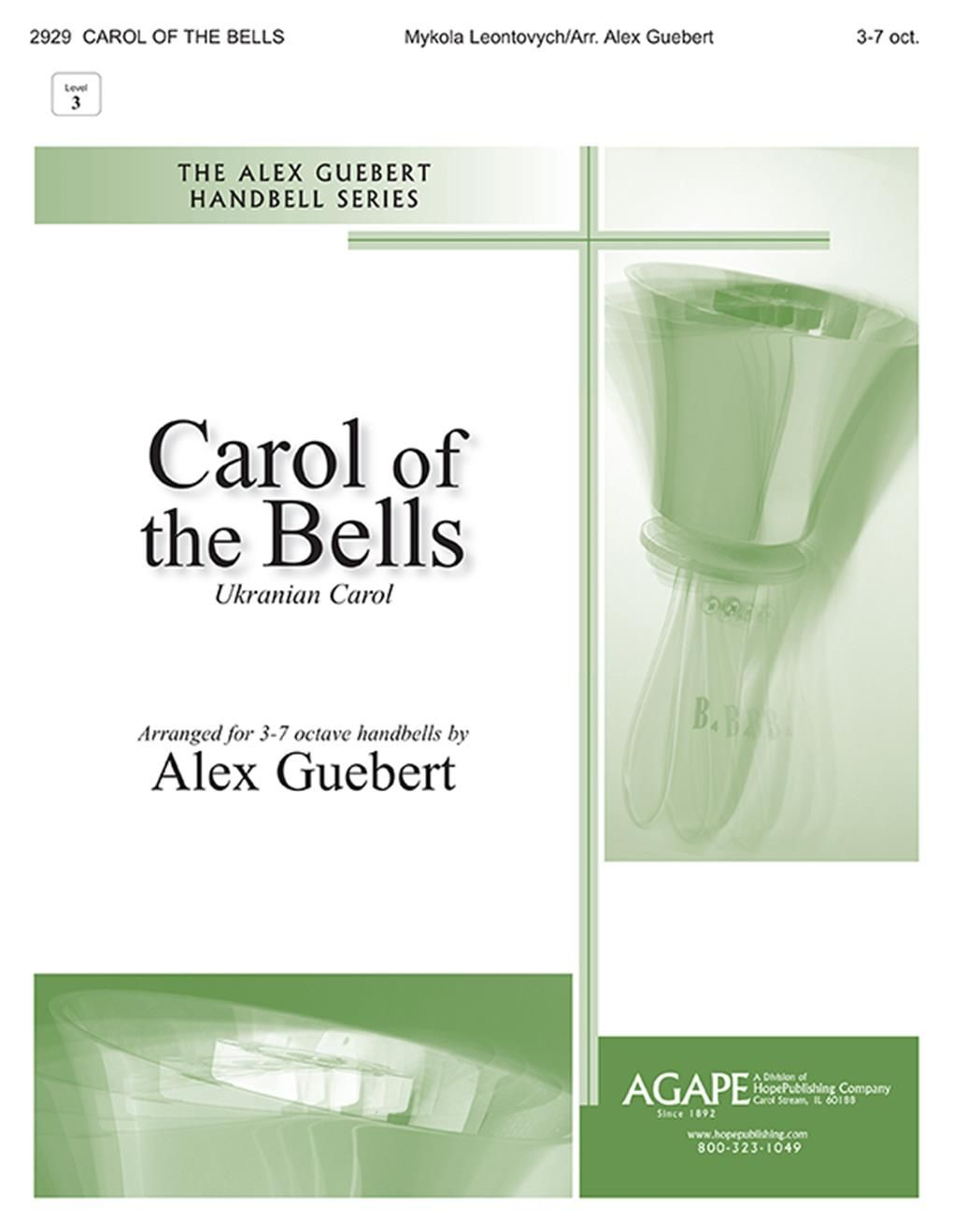 Carol of the Bells: Handbells: Instrumental Work