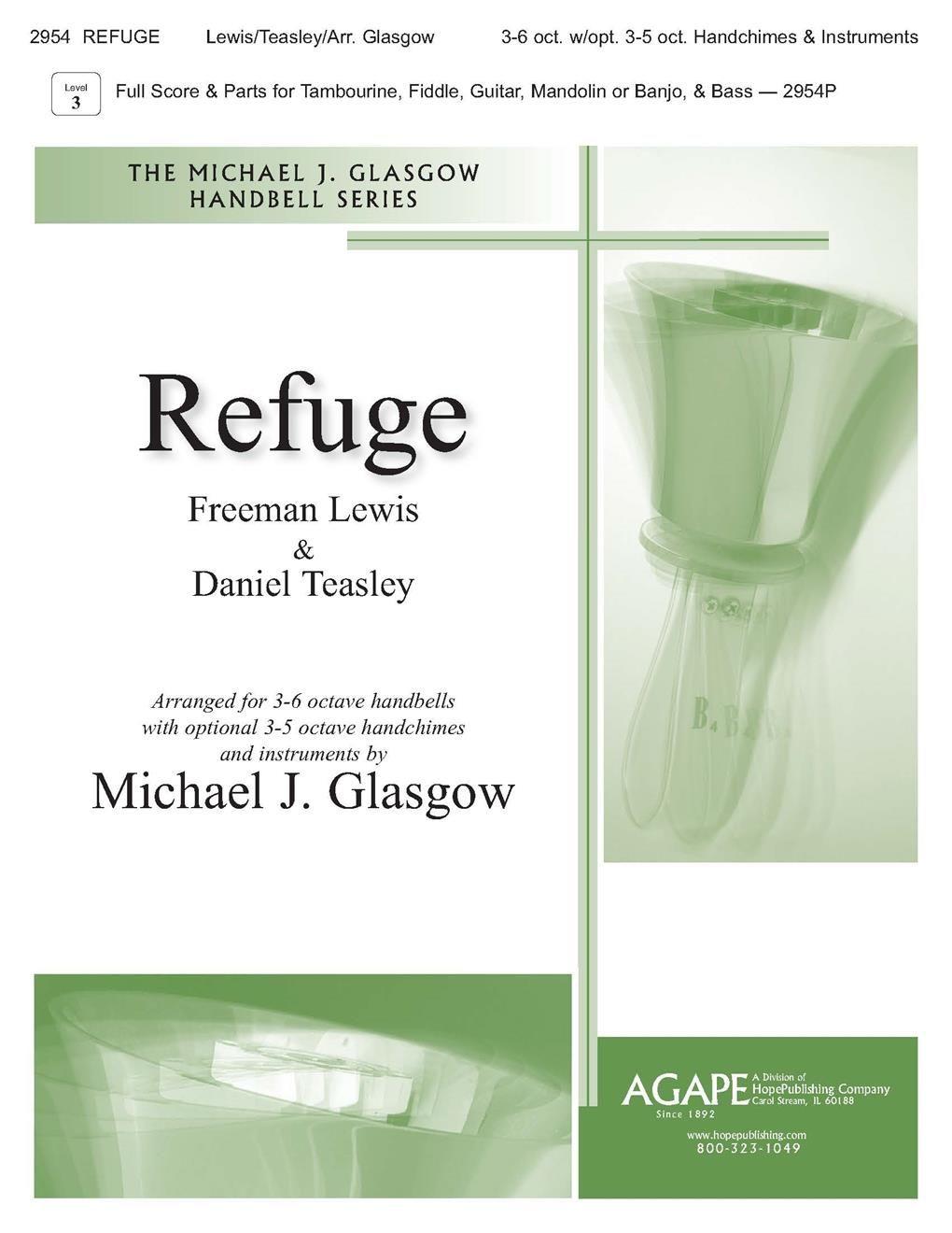 Refuge: Handbells: Score and Parts