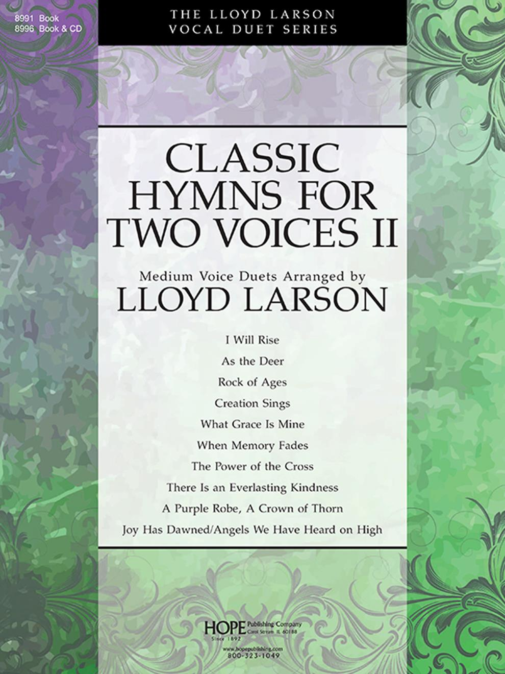 Classic Hymns for Two Voices II: Voice