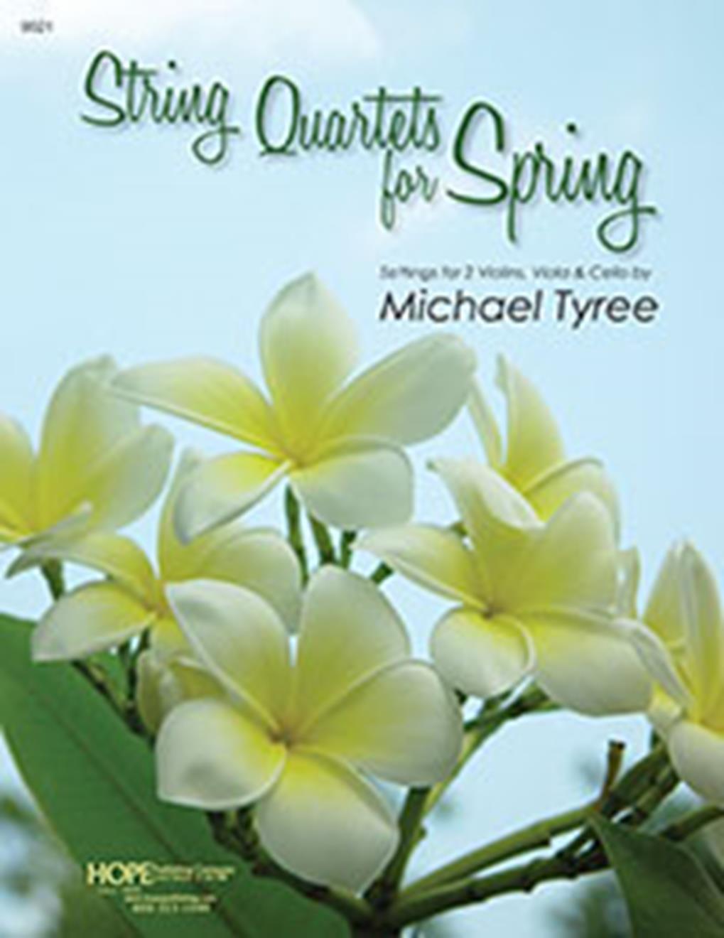 String Quartets for Spring: Violin: Score