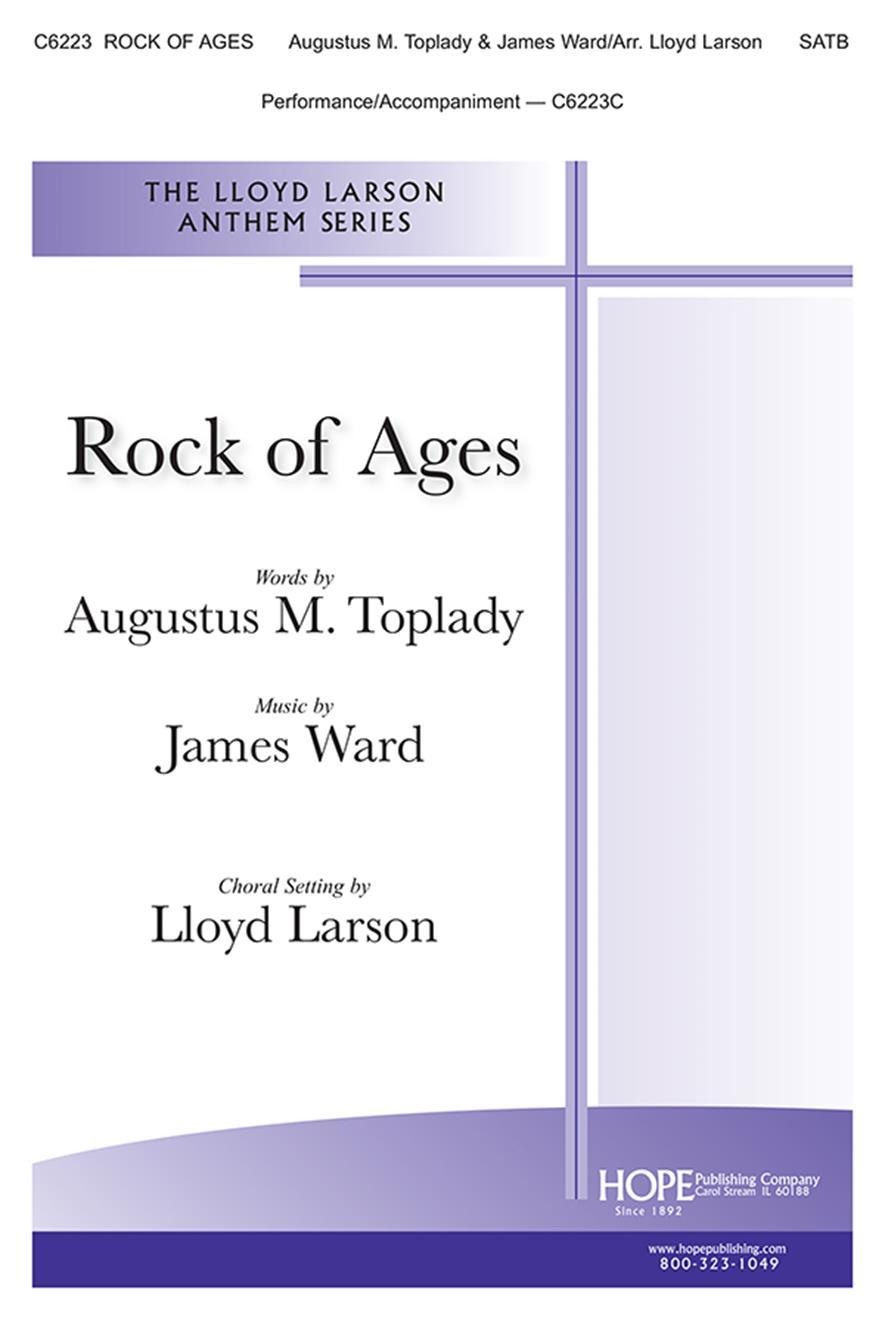 James C. Ward: Rock of Ages: SATB