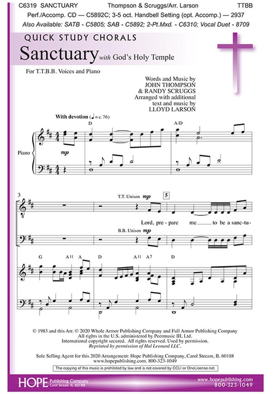 Sanctuary: SSA: Vocal Score